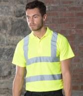 HV70: RTY High Visibility Polo Shirt