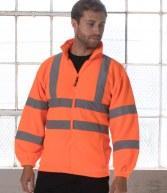 HV72: RTY High Visibility Fleece Jacket
