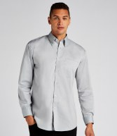 K105: Kustom Kit Long Sleeve Corporate Oxford Shirt