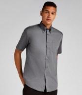 K109: Kustom Kit Short Sleeve Corporate Oxford Shirt