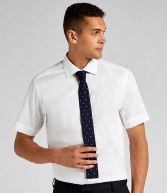 K117: Kustom Kit Short Sleeve Executive Premium Oxford Shirt