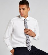 K118: Kustom Kit Long Sleeve Executive Premium Oxford Shirt