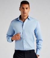 K131: Kustom Kit Long Sleeve Tailored Fit Business Shirt
