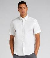 K187: Kustom Kit Short Sleeve Tailored Premium Oxford Shirt