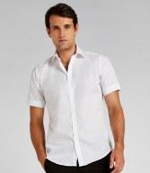 K191: Kustom Kit Short Sleeve Slim Fit Business Shirt