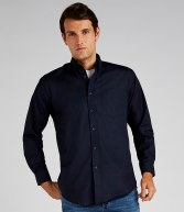 K351: Kustom Kit Long Sleeve Workwear Oxford Shirt
