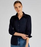 K361: Kustom Kit Ladies Long Sleeve Workwear Oxford Shirt