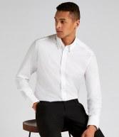 K386: Kustom Kit Long Sleeve City Business Shirt