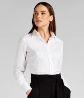 K388: Kustom Kit Ladies Long Sleeve City Business Shirt