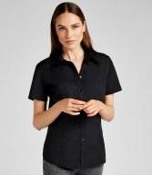K728: Kustom Kit Ladies Short Sleeve Workforce Shirt