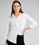 K729: Kustom Kit Ladies Long Sleeve Workforce Shirt