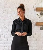 K738: Kustom Kit Bargear® Ladies Long Sleeve Shirt