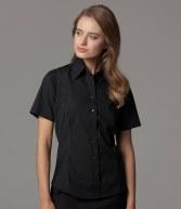 K742: Kustom Kit Ladies Short Sleeve Business Shirt
