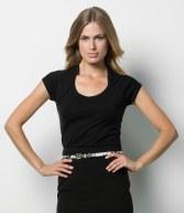 K760: Kustom Kit Ladies Scoop Neck Corporate Top