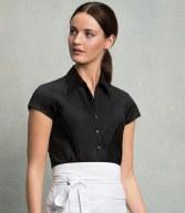 K795: Kustom Kit Bargear® Ladies Cap Sleeve Shirt