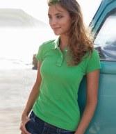 KV201: Kariban Vintage Ladies Cotton Polo Shirt