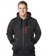 LC105: Lee Cooper Zip Hooded Workwear Jacket