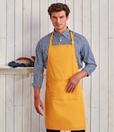 PR154: Premier 'Colours' Bib Apron with Pocket
