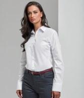 PR307: Premier Ladies Supreme Long Sleeve Poplin Shirt