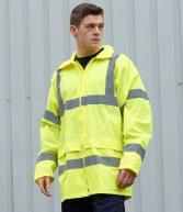 PW011: Portwest Hi-Vis Rain Jacket