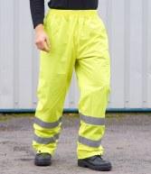 PW012: Portwest Hi-Vis Rain Trousers