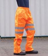 PW022: Portwest Hi-Vis Traffic Trousers GO/RT