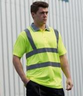 PW061: Portwest Hi-Vis Polo Shirt