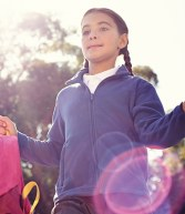 RG247: Regatta Kids Brigade Fleece Jacket