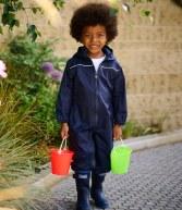 RG252: Regatta Kids Paddle Rain Suit