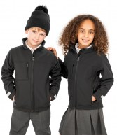 RS121B: Result Kids Classic Soft Shell Jacket