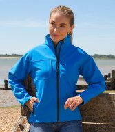 RS121F: Result Ladies Classic Soft Shell Jacket