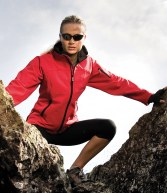 RS122F: Result Ladies Soft Shell Jacket