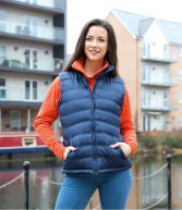 RS193F: Result  Ladies Ice Bird Padded Gilet