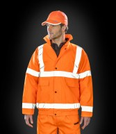 RS217: Result Core High Viz Winter Blouson Jacket