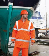 RS218: Result Core High Visibility Motorway Coat