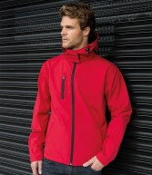 RS230M: Result Core TX Perf Hooded Softshell Jacket
