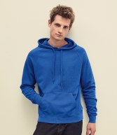 SS121: Fruit of the Loom Lightweight Hooded Sweatshirt