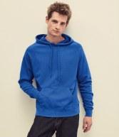 SS121: Fruit of the Loom Lightweight Hooded Sweatshirt
