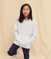 SS121B: Fruit of the Loom Kids Lightweight Hooded Sweatshirt
