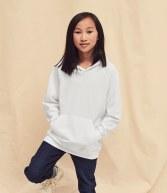 SS121B: Fruit of the Loom Kids Lightweight Hooded Sweatshirt