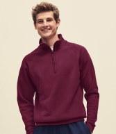 SS17: Fruit of the Loom Classic Zip Neck Sweatshirt