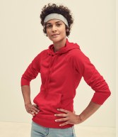 SS181: Fruit of the Loom Lady Fit Lightweight Hooded sweatshirt