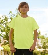 SS210B: Fruit of the Loom Kids Performance T-Shirt