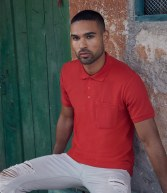 SS23: Fruit of the Loom Pocket Pique Polo Shirt