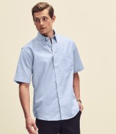 SS401: Fruit of the Loom Short Sleeve Oxford Shirt