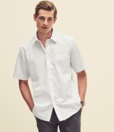 SS411: Fruit of the Loom Short Sleeve Poplin Shirt