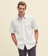 SS411: Fruit of the Loom Short Sleeve Poplin Shirt