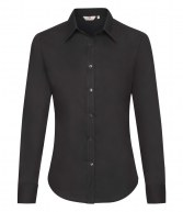 SS472: Fruit of the Loom Lady Fit Long Sleeve Oxford Shirt