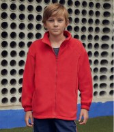 SS50B: Fruit of the Loom Kids Outdoor Fleece Jacket