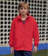 SS50B: Fruit of the Loom Kids Outdoor Fleece Jacket